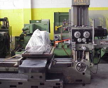 Boring machine Boring machine MONTI