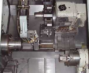 Cnc lathe 2 spindles / 2 turrets
