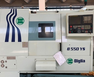 Cnc lathe With subspindle BIGLIA