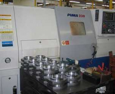 cnc lathe With subspindle DAEWOO