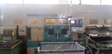 Cnc lathe Facing lathe with 2 spindles MURATEC