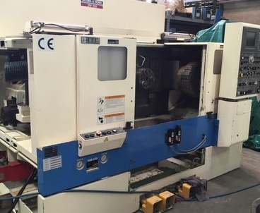 cnc lathe Facing lathe with 2 spindles OKUMA & HOWA