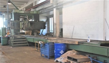 gantry surface grinding machine  BILLETER