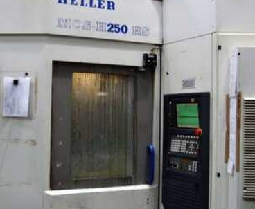 Horizontal machining center Pallet changer HELLER