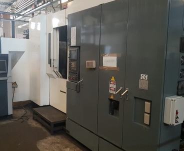 Horizontal machining center Multipallet KITAMURA