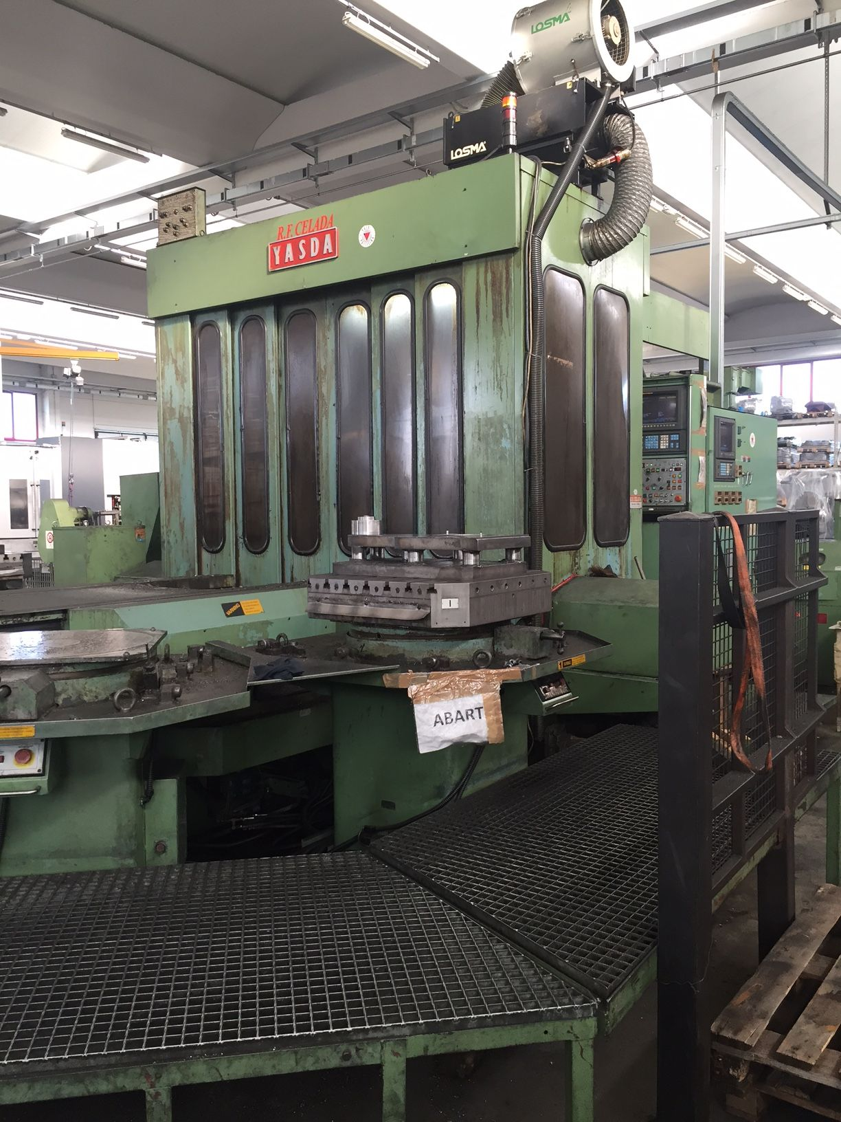 Horizontal Machining Center Yasda Ybm900n For Sale Gmv