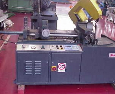 Sawing machine Power band saw BIANCO