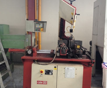 Sawing machine Power band saw RAIM