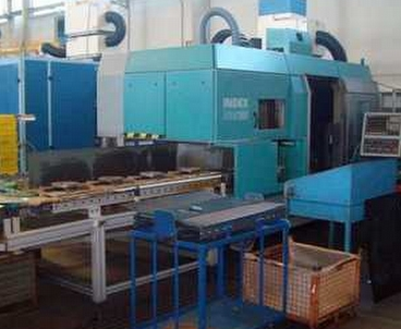 Vertical lathe/Turning mill Single-spindle INDEX