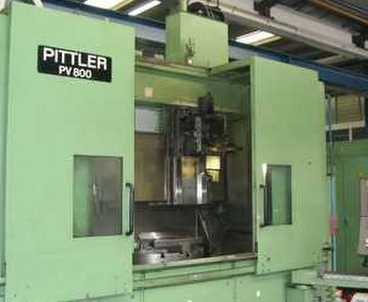 Vertical lathe/Turning mill Single-spindle PITTLER