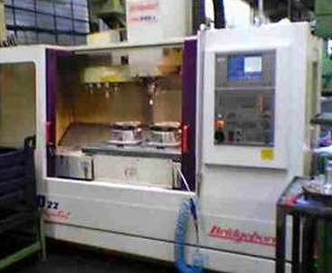 Vertical machining center With pallet changer BRIDGEPORT
