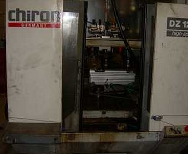 vertical machining center Vertical with 2 spindles CHIRON