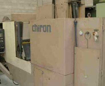 Vertical machining center With pallet changer CHIRON
