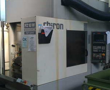 Vertical machining center Vertical CHIRON
