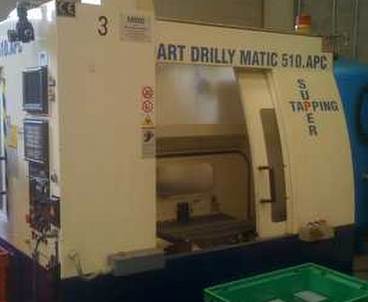 Vertical machining center Moving column DART