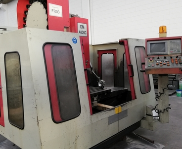 Vertical machining center Vertical DYNA MECHTRONICS