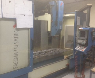 Vertical machining center Moving column FAGIMA