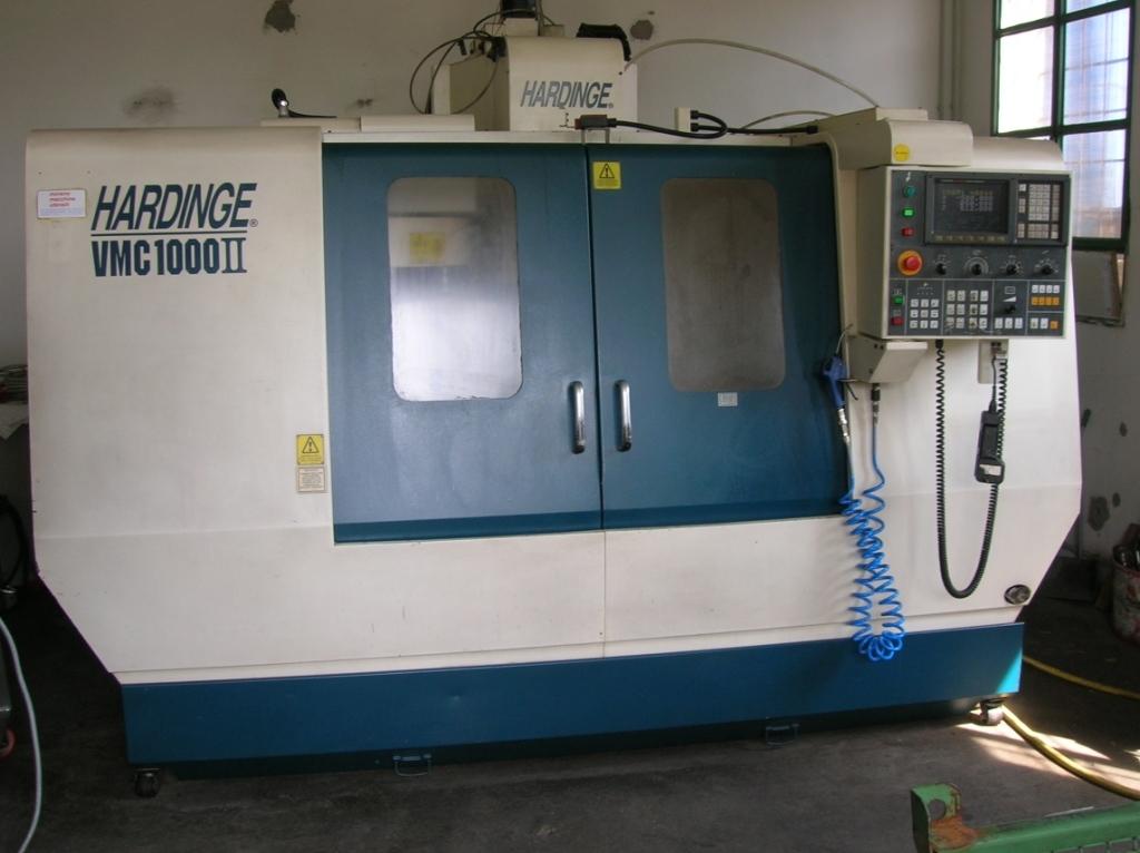 Vertical Machining Center Hardinge Vmc 1000 Ii For Sale