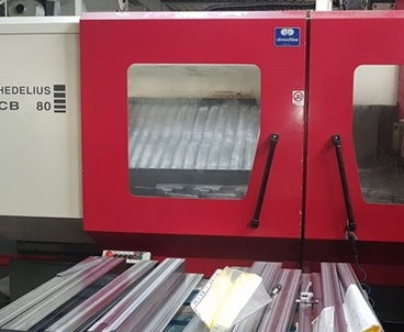 vertical machining center Moving column HEDELIUS