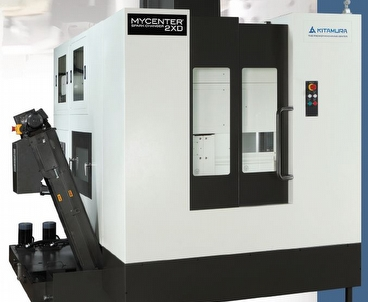 vertical machining center With Spark Changer KITAMURA