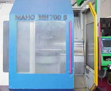 Vertical machining center Vertical MAHO