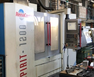 Vertical machining center Vertical REMA CONTROL