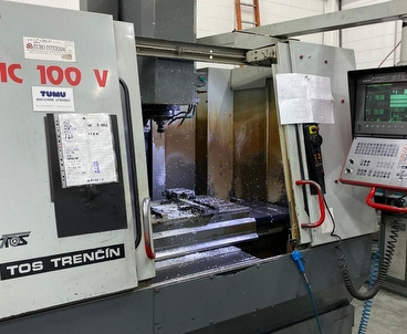 Vertical machining center Vertical TOS