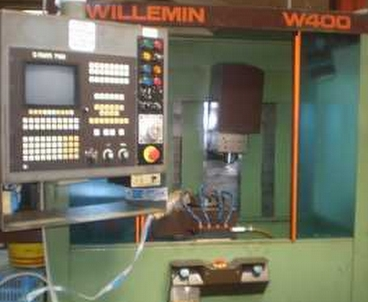 Vertical machining center Vertical WILLEMIN